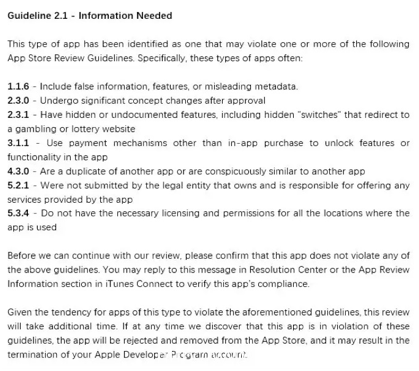 最全iOS马甲包审核以及常见审核问题